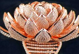 7 हजार हीरों से बनी बेशकीमती अंगूठी गिनीज बुक में दर्ज हुई।