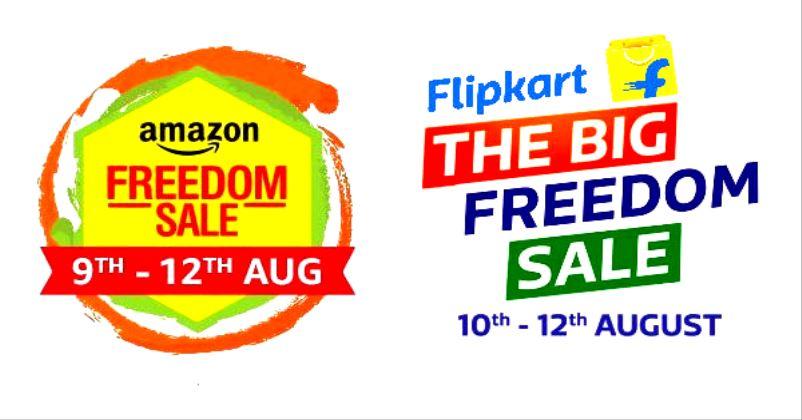जानिये Amazon और Flipkart के Freedom Sale के बारे में।