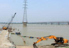 सिमरिया में बन रहा है 6.2 किमी लंबा 6 लेन पूल।