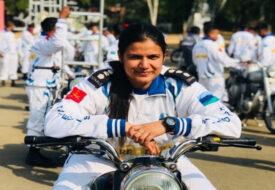 बिहार की बेटी ने 26 जनवरी की परेड में दिखाया खतरनाक स्टंट्स