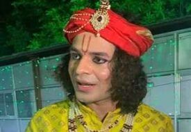 जन्माष्टमी के मौका पर तेज प्रताप 'श्री कृष्ण' बन के खेललें डांडिया।
